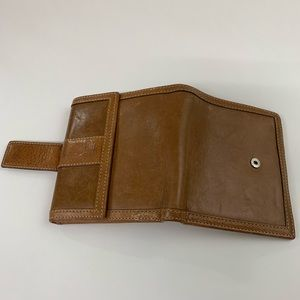 Coach Bags - Coach Womens Bifold Wallet Solid Brown Leather